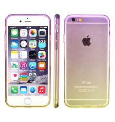 Stylish skin,Designed for Apple iPhone 6 Plus (2014 Model) and Apple iPhone 6s Plus (2015 Model) 5.5 Inches, Fits perfect with the iPhone 6/6s plus, all ports and holes perfectly placed translucent, multi-color gradients, beautiful, looking stylish, good to hold it. Good protection- Anti-Shock, drop resistance for the back, anti-scratch and Non-deformation.