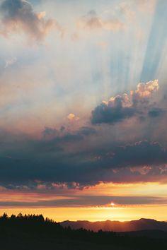 Crater Lake Sunset   Jared Atkins