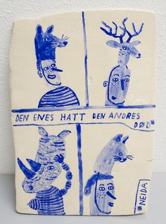 Kjersti Johanne Barli's Ceramics of the 7 Deadly Sins