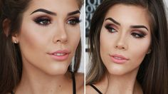 SUMMER MAKEUP TUTORIAL ft. Too Faced Sweet Peach Palette | Katerina Williams - YouTube