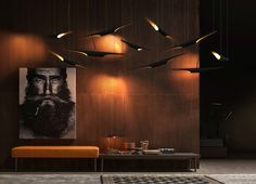 Coltranes suspension lamps give a touch of cool to any ambiance. vintage and unique describe it perfectly. www.delightfull.eu