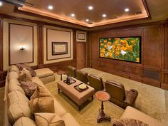 Small Media Room Ideas: Pictures, Options, Tips & Advice | Home Remodeling - Ideas for Basements, Home Theaters & More | HGTV