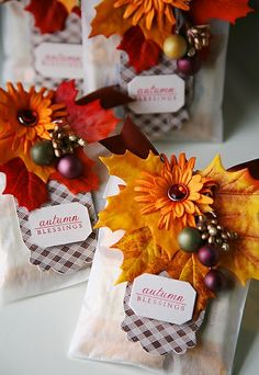 Thanksgiving treat bag