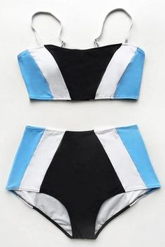 Cupshe Your Charming Way High-waisted Bikini Set
