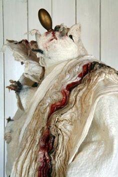 Image result for nuno felted bolero