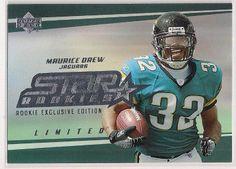 2006 UD Star Rookies Maruice Jones Drew Rookie exclusive edition card #252 Jags