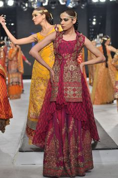 Latest Bridal Collection 2012 by HSY | Fashion Pakistan, Pakistani Fashion, Pakistani Fashion Designers,