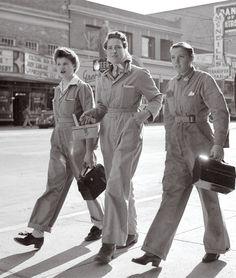Women in industrial work during WWII
