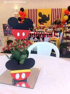 Festa Mickey com Painel de tecido