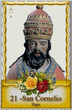 ¿Quién es San Cornelio?
