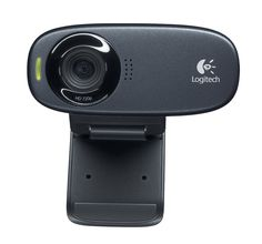 Logitech Webcam - Black USB 5 Megapixel Interpolated 1280 x 720 Video CMOS Sensor Widescreen Microphone for sale online Logitech, Computer Camera, Pc Computer, Mac Laptop, Desktop Accessories, Cool Things To Buy, Stuff To Buy, Facetime