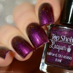 Top Shelf Lacquer: Sippity Doo Dah. I must have six polishes in this part of the spectrum, but I love it so.