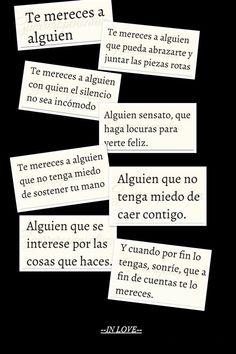 Love Phrases, Love Words, Sad Love, Love You, Frases Love, Love Is Comic, Love Images, Love Messages, Spanish Quotes