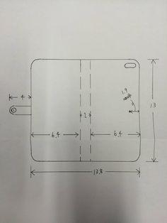 手帳型スマホケースの作り方 - MiA工房