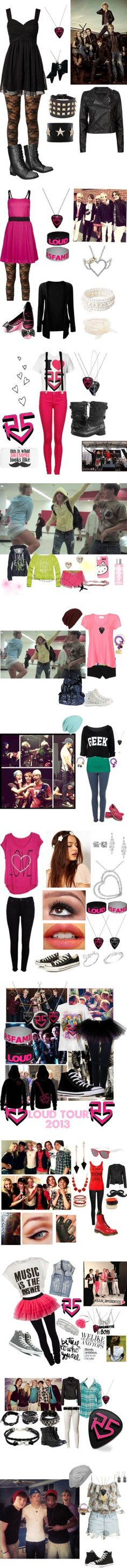"""R5"" by godzlilhelper ❤ liked on Polyvore"
