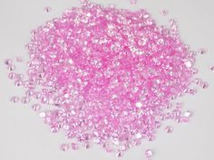 100 Pcs Pink Tourmaline Color Cubic Zirconia CZ Round 3mm Normal Cut Gemstone #Raagarw