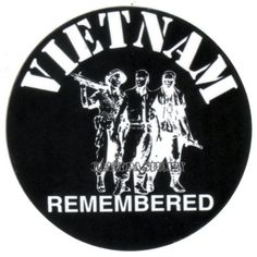 Vietnam Veteran Vietnam Remembered Sticker For Your Man Or Bud in Crafts, Scrapbooking & Paper Crafts, Embellishments | eBay