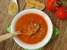 Kıymalı Bulgur Çorbası Resimli Tarifi - Yemek Tarifleri