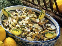 Conquilhas à Algarvia - Gastronomia de Portugal
