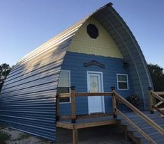 Kit Sizes, Prices, and Example Quotes - Welcome to Arched Cabins! Tiny House Cabin, Tiny House Living, Tiny House Design, Small House Plans, House Floor Plans, Quonset Hut Homes, Building A Cabin, Building Ideas, Diy Cabin