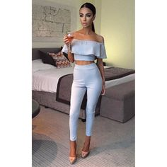Cheap jumpsuit baby, Buy Quality jumpsuit pattern directly from China jumpsuit women Suppliers: Womens Jumpsuit Slash Neck Rompers Sexy Stretch Strapless Bodysuit Flounced Skinny Party Playsuit Crop Top Chic Strapless Jumpsuit, Strapless Bodysuit, Two Piece Jumpsuit, Playsuit Romper, Ladies Jumpsuit, Ruffle Jumpsuit, Floral Jumpsuit, Crop Top Chic, Ruffles