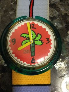 Swatch watch vintage palm trees #Swatch