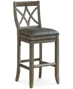 American Heritage Barstools Hadley Bar Height Bar Stool, Direct Ship