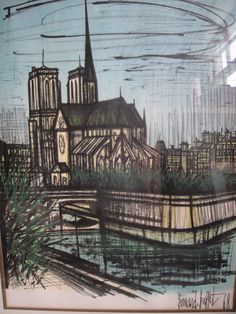 Notre Dame Cathedral by Bernard Buffet