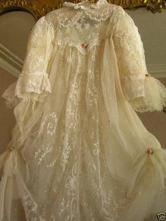Exquisite ETHEREAL ANTIQUE LACE Couture by AntiqueLaceHeirlooms
