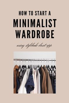 Tracking your wardrobe with Stylebook will help you overcome these challenges and enjoy the clothes you already own. You don't need hundreds of pieces of clothing to feel connected to fashion, you just need what you love and will actually wear. Fashion Blogs, Fashion Hacks, Ethical Fashion, Slow Fashion, Sustainable Living, Sustainable Fashion, Closet App, Fashion Documentaries, Minimalist Closet