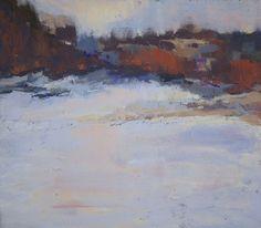 Winter Woes by Barbara Noonan Pastel ~ 9 x 10.5