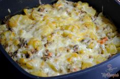 Tasty potato casserole: Since I tried this improved version, other potato casseroles have no chance – green bean casserole Mashed Potato Soup, Potato Casserole, Green Bean Casserole, Potato For Skin, Benefits Of Potatoes, Potato Juice, Sausage And Egg, Recipes From Heaven, Gastronomia