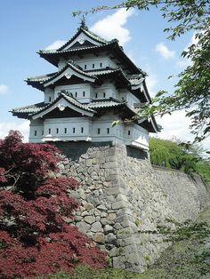 Hirosaki Castle, Hirosaki, Aomori, Japan
