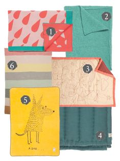 mr fox: blankets and throws for kids rooms