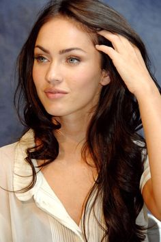 Megan Fox. i love her hair here.
