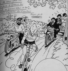 Le forum tintin :: Tintin et la Grande Boucle