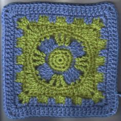 Free Pattern - Castle's End Square