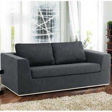 Oban sofa bed dark grey