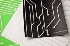 Led-wallpaper - Papel de pared con LEDs integrados
