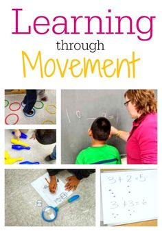 Learning through Movement: Keeping Kids Engaged