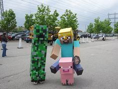 Creeper Minecraft Halloween Costumes