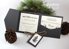 WEDDING INVITATIONS BY INSPIRATIONS BY AMIE LEE