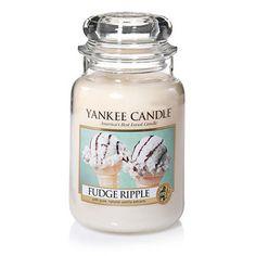 Fudge Ripple ... Pure heaven . . . sugary rich frosted vanilla cream laced with luscious chocolate fudge and cocoa.