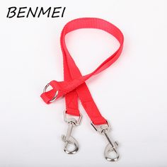 BENMEI colorful Nylon Dog Leashes Pet Walking Training Leash Cats Dogs Traction Rope Collar Lead Strap Belt 90CMX1.5CM #Affiliate