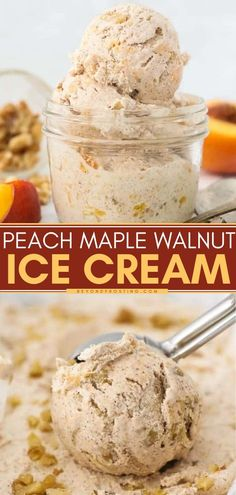 9.5 hours · Serves 6 · Homemade ice cream is always the best kind of summer dessert! Flavored with brown sugar, maple syrup, and bourbon, this easy peach ice cream recipe will become one of your favorite frozen treats. Save… Easy No Bake Desserts, Frozen Desserts, Summer Desserts, Frozen Treats, Delicious Desserts, Peach Ice Cream Recipe, Ice Cream Flavors, Homemade Ice Cream, Ice Cream Recipes