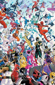 Power Rangers Poster, Power Rangers Comic, Power Rangers Series, Go Go Power Rangers, Mighty Morphin Power Rangers, Kon Bleach, Rangers Team, Character Art, Science Fiction Art
