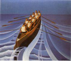 Canottieri, 1929 by Pippo Rizzo (Italian 1897-1964)