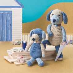 "1,222 lượt thích, 9 bình luận - Simply Crochet (@simplycrochetmag) trên Instagram: ""These puppy pals are big fans of DIY and we're sure you'll be big fans of hooking them up! Find…"""