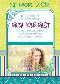 Graduation Invite