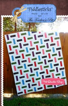 fat quarter quilt patterns easy free   ... Quilt Pattern The Teacher's Pet #TP-5010 - Fat Quarter Shop